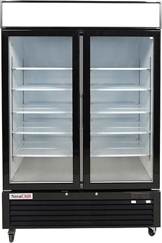 Two Door Display Freezer