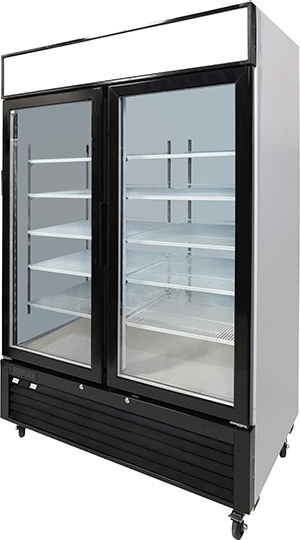 2 door fridge freezer side on