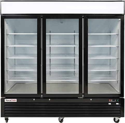 3 Door Display Fridge