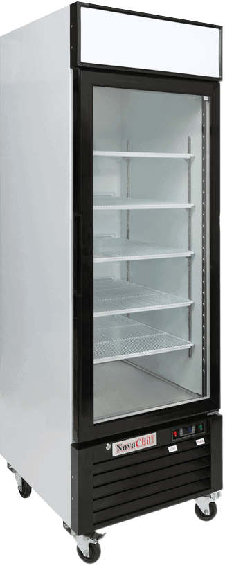 One Door Display Fridge
