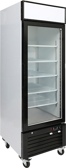 Single door freezer side